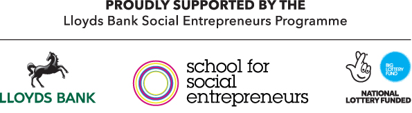 School for Social Entrepreneurs Branding - logo artwork
